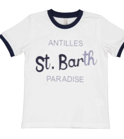 T-Shirt ST. Barth A Rilievo 3D