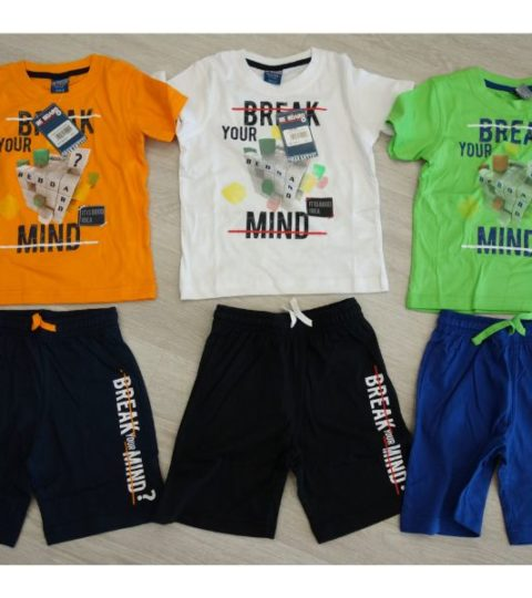 Completo Break T-shirt/pantaloncino Junior