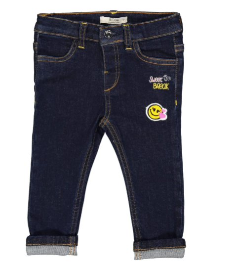 JEANS STRETCH CON PATCH